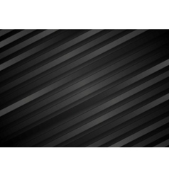 Abstract black diagonal stripes background vector