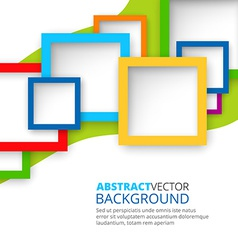 Abstract Squares Background vector