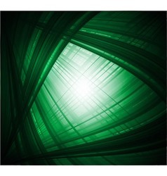 Abstract virtual with black green background vector