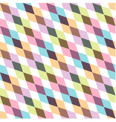 creative geometric seamless pattern - colorful vector image