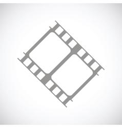 Film black icon vector