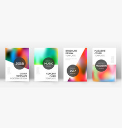Flyer layout modern mind-blowing template for bro vector