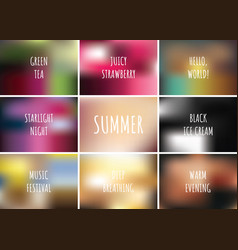 gradient pattern set collection background with vector image