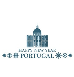 Greeting Card Portugal vector image