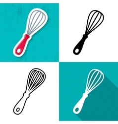 whisk icon vector image vector image