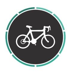 Bicycle icon computer symbol vector image