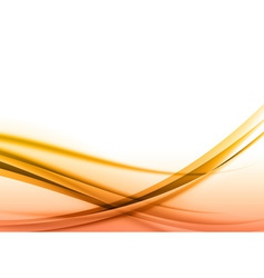 abstract orange back vector image