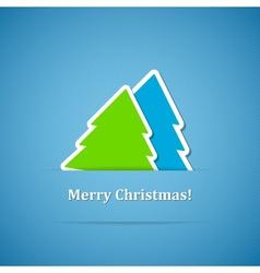 Christmas back vector