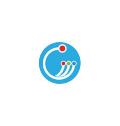 Circuit technology ilustration logo vector