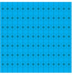 geometric blue background oktoberfest pattern vector image
