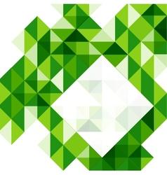 Green modern geometric design template vector