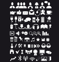 Icons web big pack vector