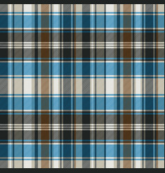 Striped check plaid seamless pattern vector