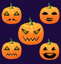 pumpkin2 vector image