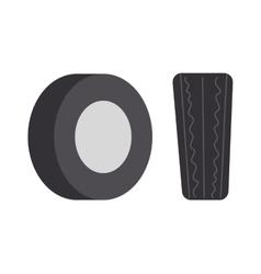 Car tire vector image