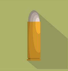 cartridge icon flat style vector image