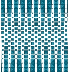 Seamless pattern with halftone squares vector