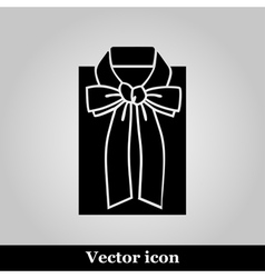 Female blouse sketch icon vector image vector image