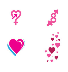 gender template icon vector image