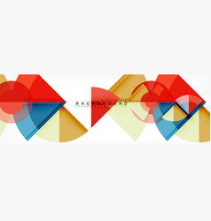 Modern geometric abstract background vector