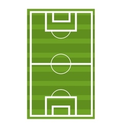 Soccer court graphic vector