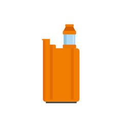 Vape box icon flat style vector