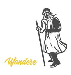 Wandere wanderer vector