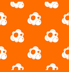 atom pattern seamless vector image