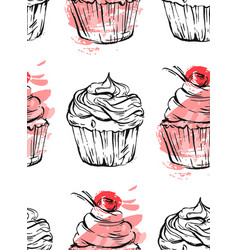 hand drawn abstract graphic delicious vector image vector image