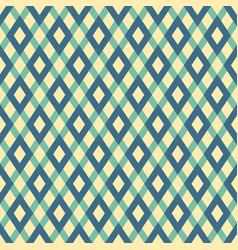 abstract seamless pattern with color rhombuses vector image