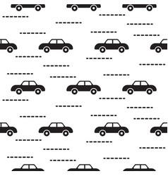 car cute bascandinavian seamless pattern vector image