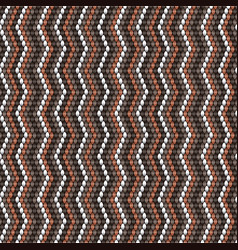 Chevrom knitting pattern weaving texture vector