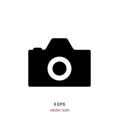 foto camera simple icon vector image