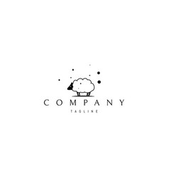 logo on which an abstract image a funny vector image