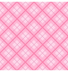 Pink Tartan Diamond Background vector