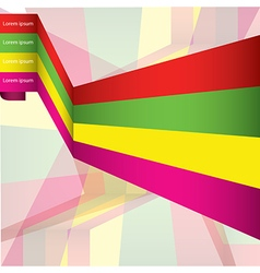 Abstract background infographic templates colorful vector image