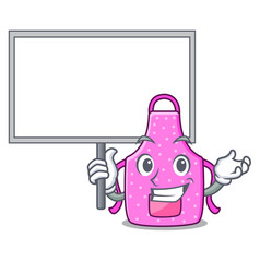 bring board kitchen apron isolated the with vector image