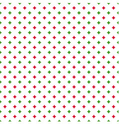 christmas seamless pattern with quadrangular stars vector image