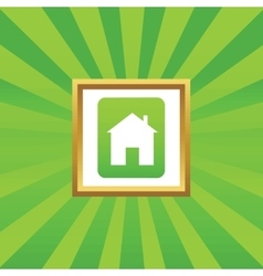 House sign picture icon vector