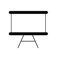 isolated blackboard design vector image
