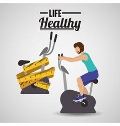 Life healthy design vector
