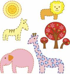 safari day vector image