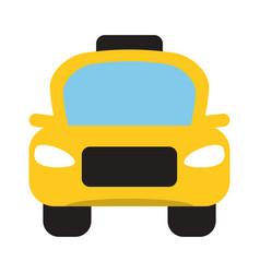 Taxi car public vehicule vector