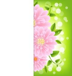 Gerber Background vector image