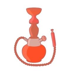 Hookah icon in cartoon style vector image