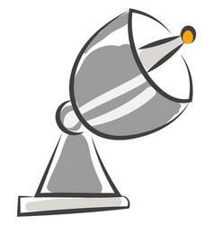 A big antenna or color vector