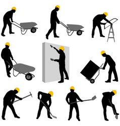 Construction workers 2 vector