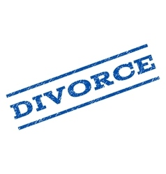 Divorce Watermark Stamp vector