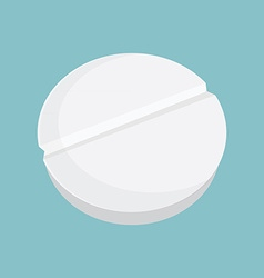 Pill tablets vector
