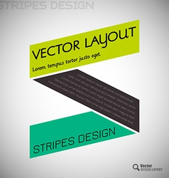 Simple Design vector image